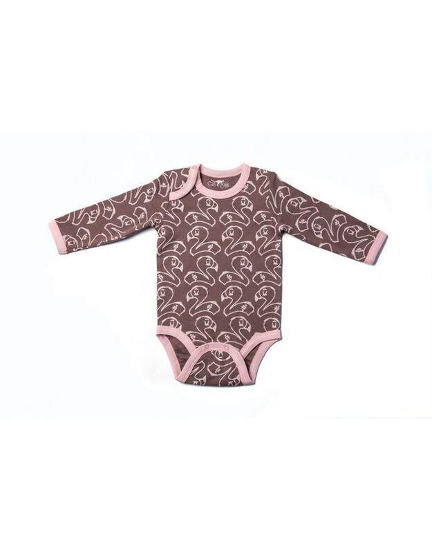 """Smėlinukas """"Flamingas"""". 68cm., 3-6mėn, 74cm. 6-9mėn. 80cm., 9-12mėn"""